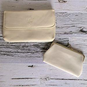 Gloria Vanderbilt vintage clutch & coin purse